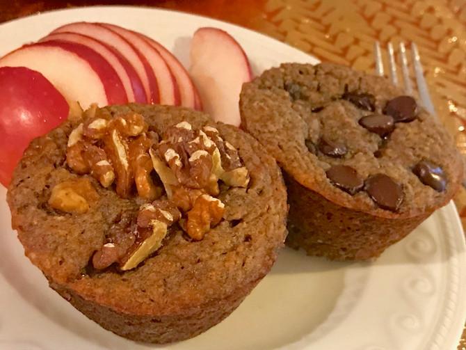 Protein Banana Nut Muffin