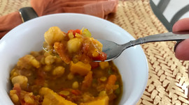Savory Moroccan Stew...                       An Anti-Inflammatory Powerhouse
