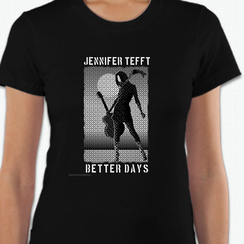 Better Days Girly Fit T shirt