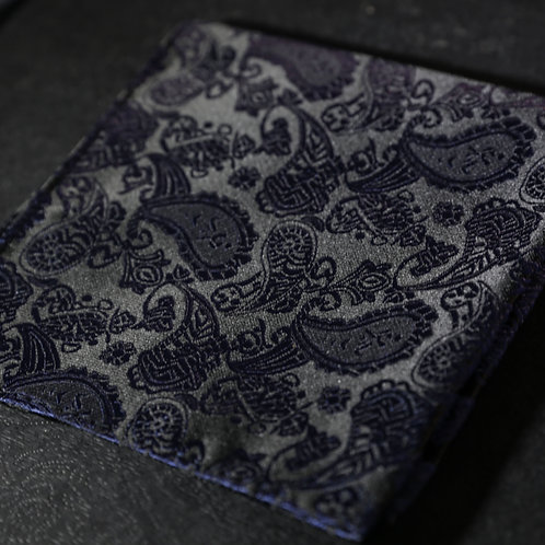 Midnight Cocktail - Classic Black Paisley