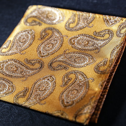 Grand Canyon - Paisley Gold and Beige