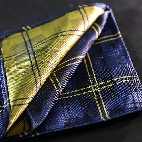 Ambition - Checkered Blue and Yellow