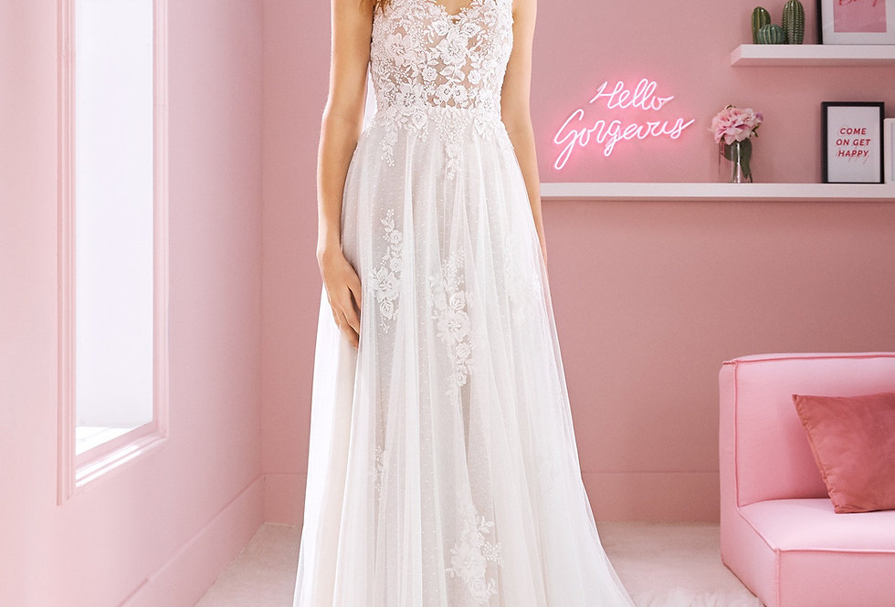 White One Megan Wedding Gown