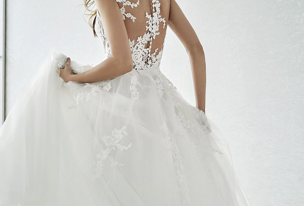 White One Felicidad Wedding Gown
