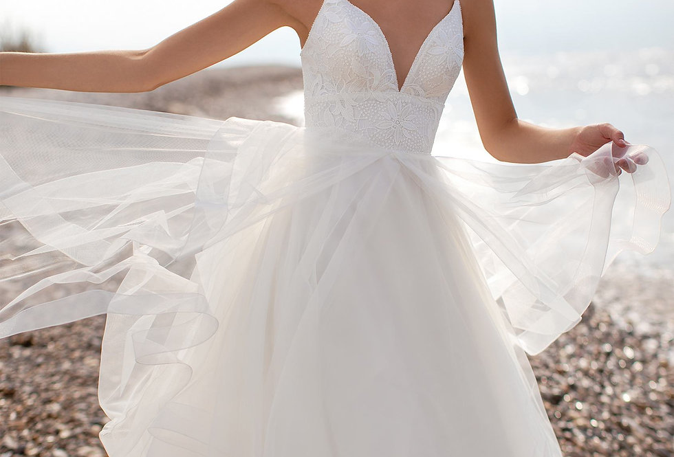 White One Ravyn Wedding Gown