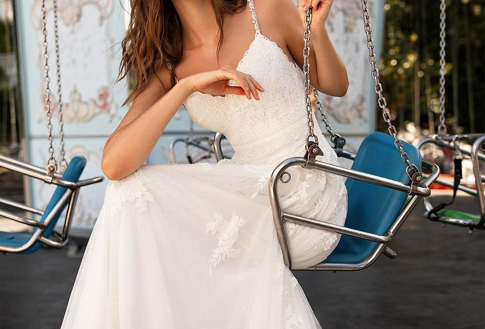 White One Cardi Wedding Dress