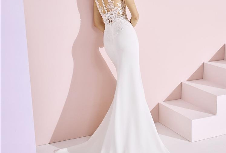 White One Angelina Wedding Gown