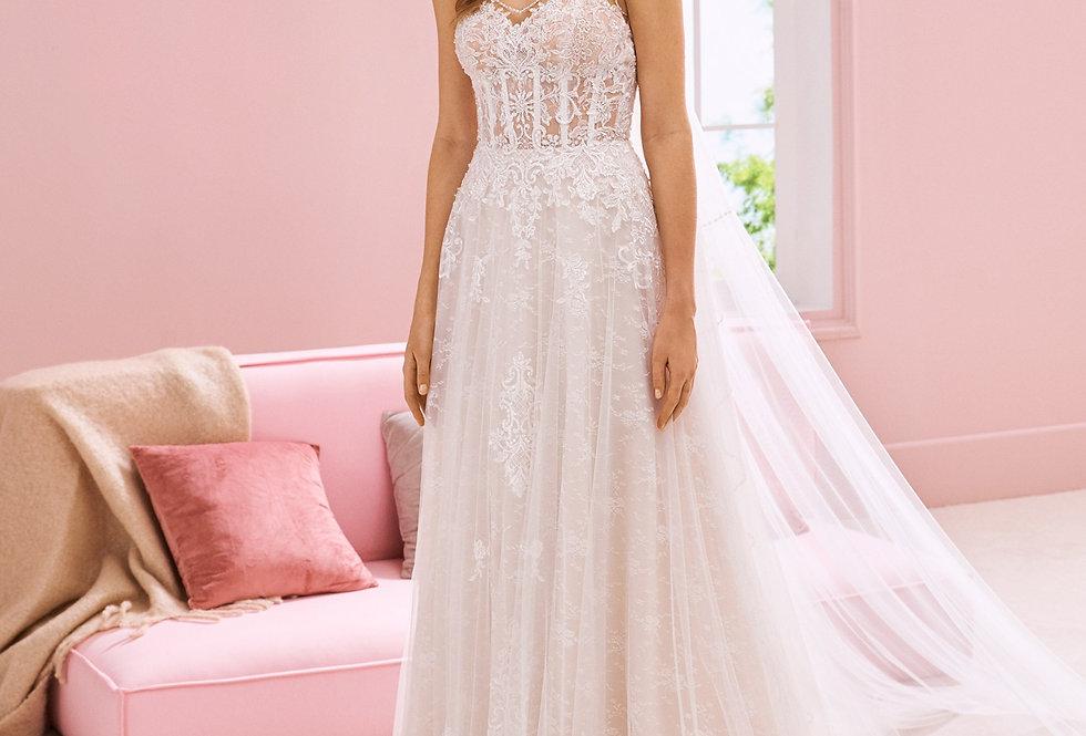White One Mahalia Wedding Gown