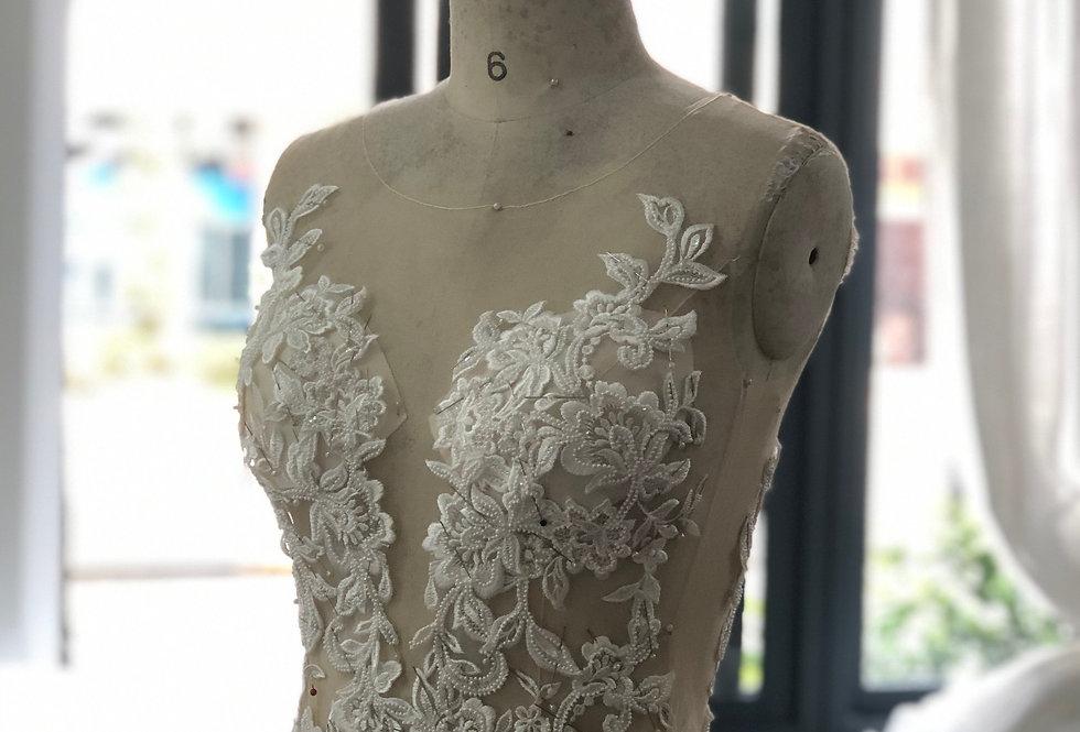 Custom Made Wedding Gown