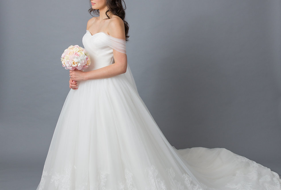 Tulle Sweetheart Ball Gown