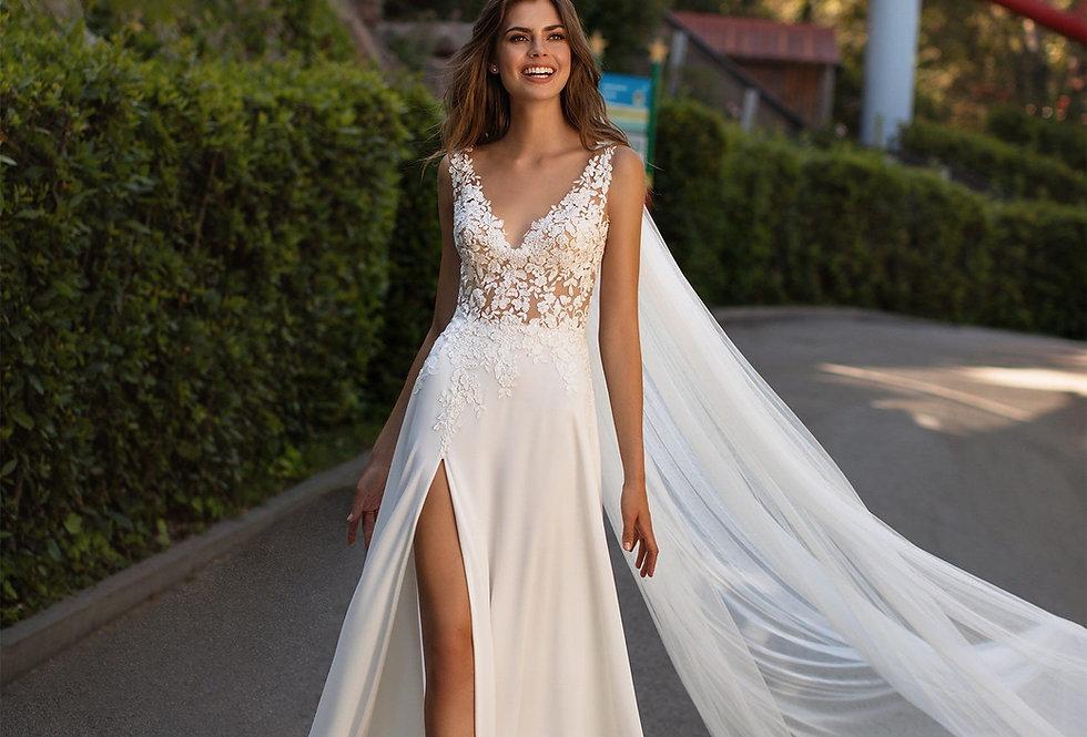 White One Ama Wedding Gown