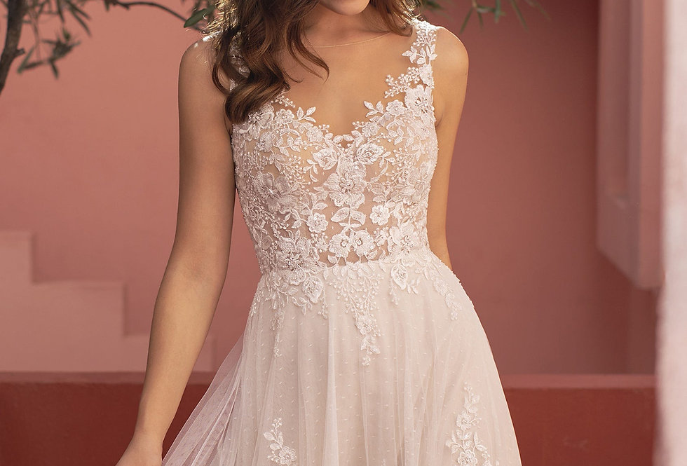 White One Megan Wedding Gown