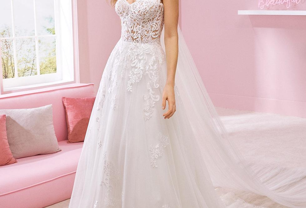 White One Summer Wedding Dress