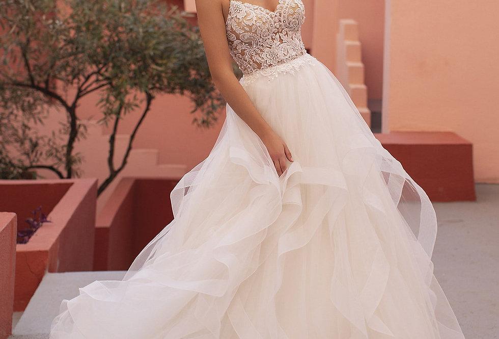White One Rina Wedding Dress