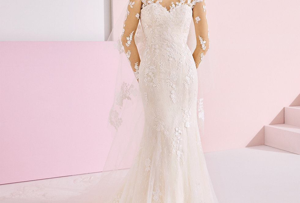 White One Hera Wedding Dress