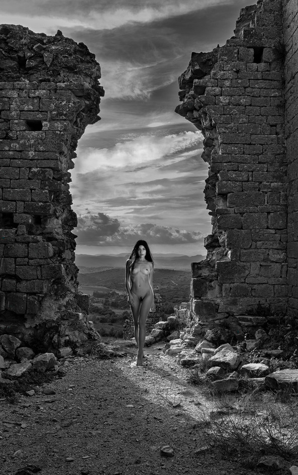 Between Crumbling Walls