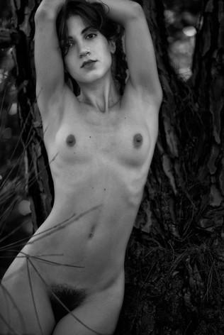Portrait Against Tree