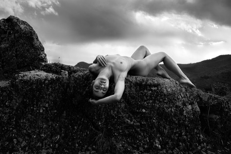 Reclinging Nude France
