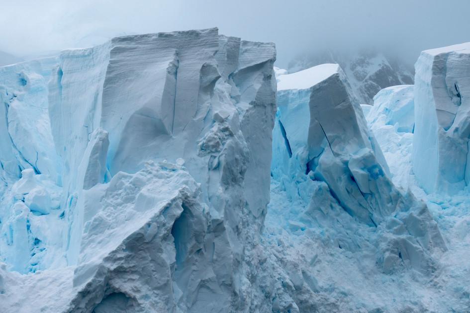 Cityscape of Ice