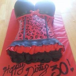 Womens Torso Cake