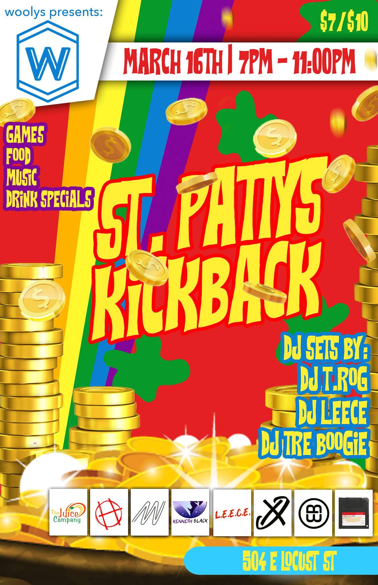 St. Patty's Kickback