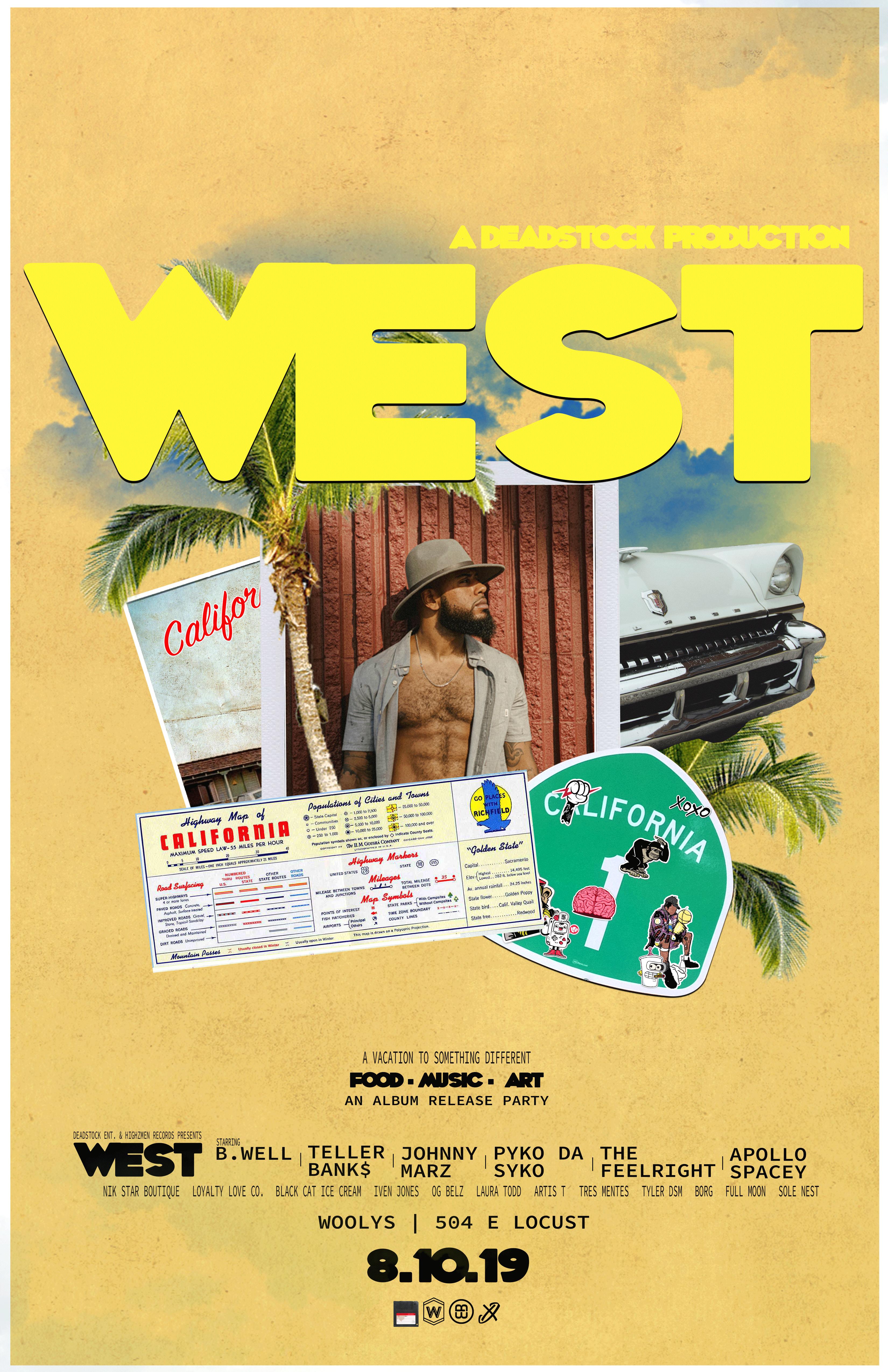 W.E.S.T Album Release