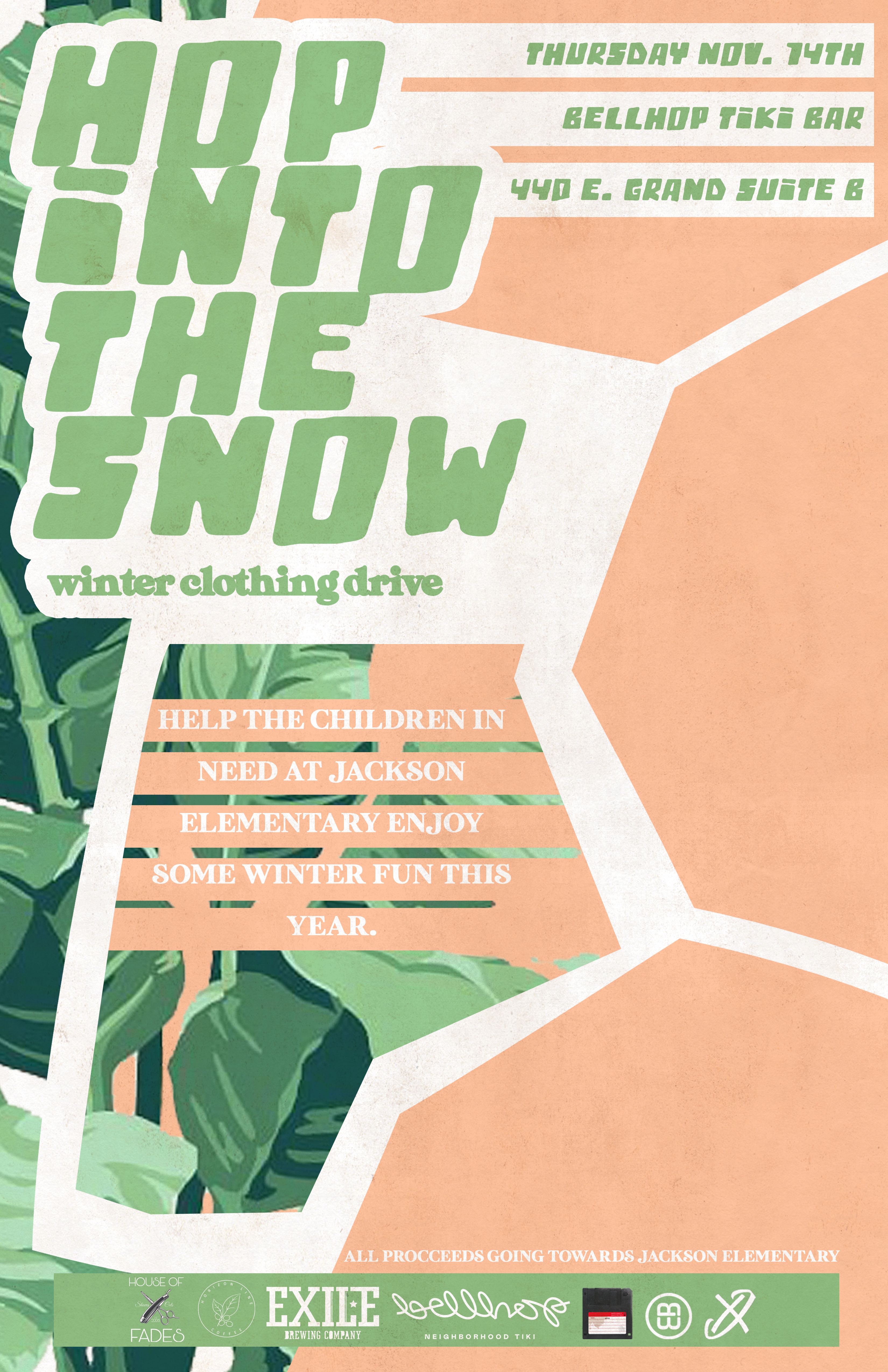 Hop into the Snow (Clothing Drive)