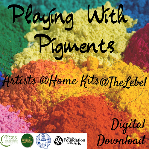 Artists @ Home Playing With Pigments Digital Download