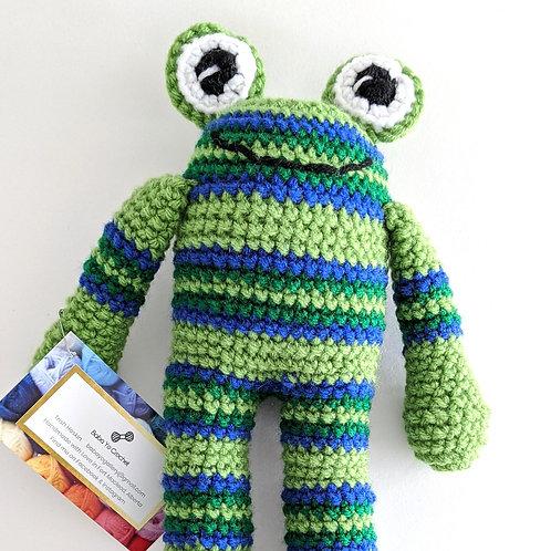 Ronald the Frog by Baba Yo Crochet
