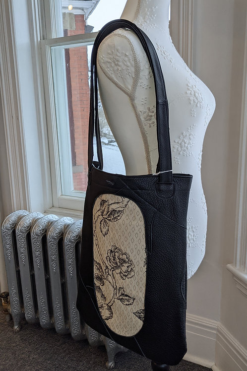 Leather Bag by Janet Costa