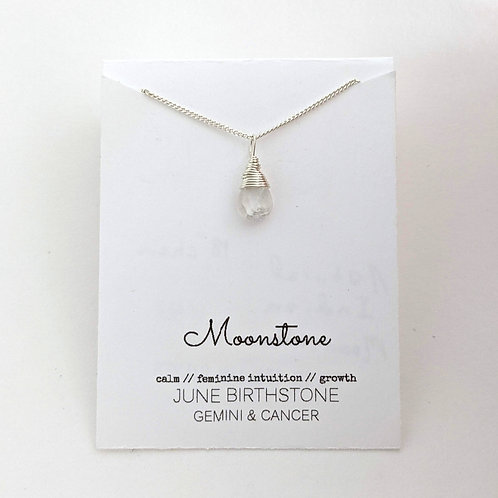 Darling Gems for You Moonstone Necklace
