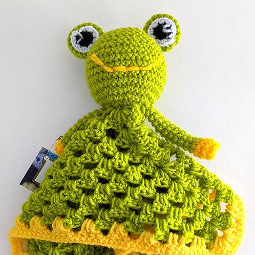 Frog Lovey by Baba Yo Crochet