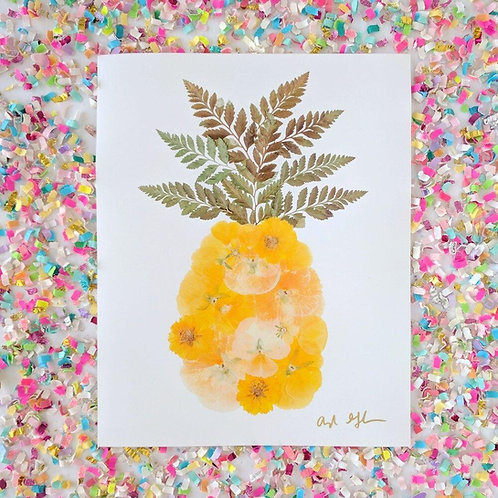 Pineapple Oxeye Floral Co. Greeting Card