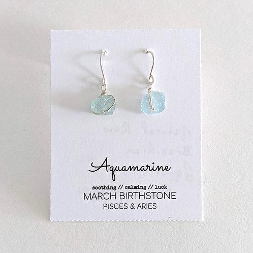 Darling Gems for You Aquamarine Earrings