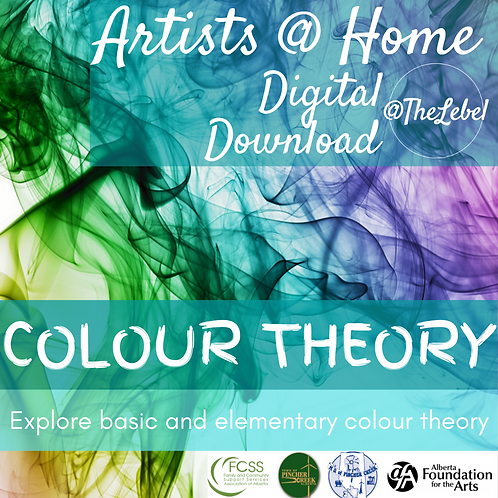 Artists @ Home Digital Download- Colour Theory