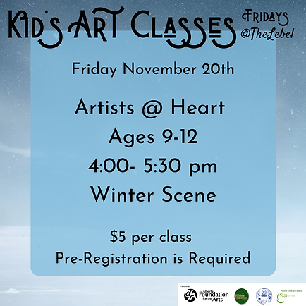November 20th Artists @ Heart.png