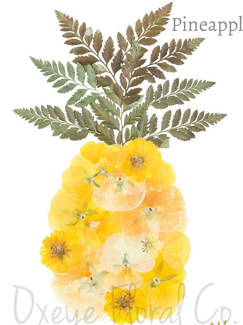 Pineapple 8x10 Print by Oxeye Floral Co.
