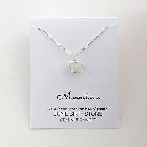 Darling Gems for You Moonstone Necklace