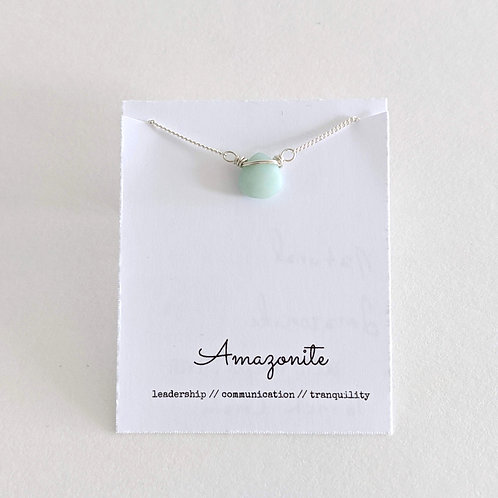 Darling Gems for You Amazonite Necklace