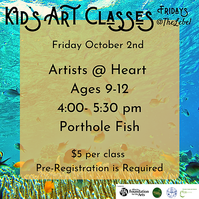 October 2nd Artists @ Heart.png