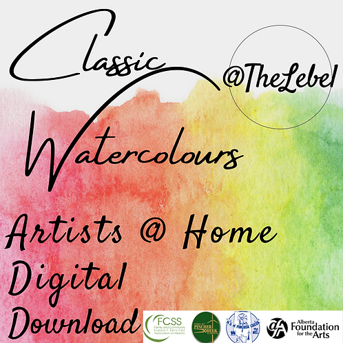 Artists @ Home Classic Watercolours Digital Download