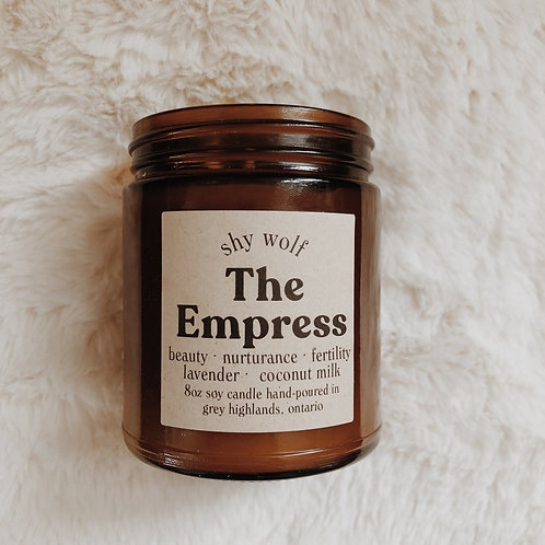 The Empress Candle by Shy Wolf Candles