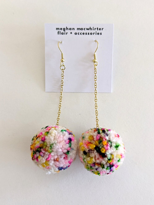 Pom-Pom Earrings by Meghan MacWhirter
