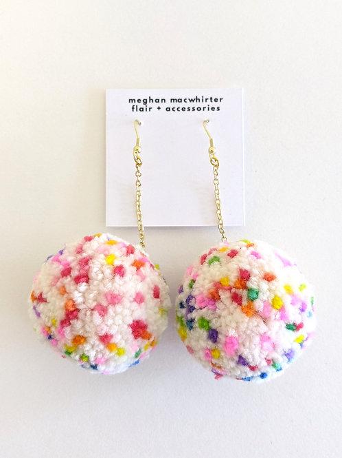 Pom-Pom Earrings by Meghan MacWhirter