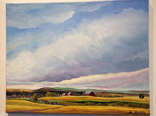 Prairie Days by Sherry Chanin