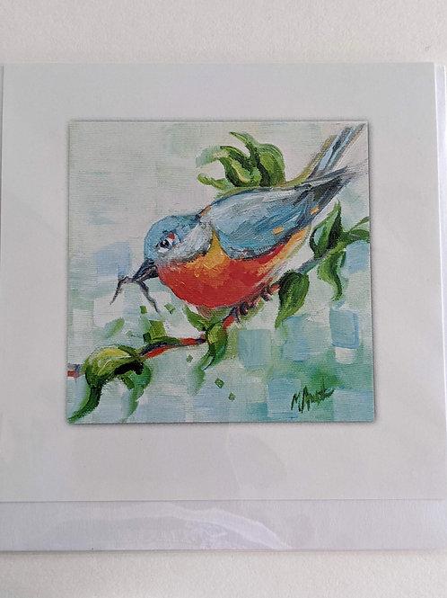 A Fine Art Card by Michelle Austen