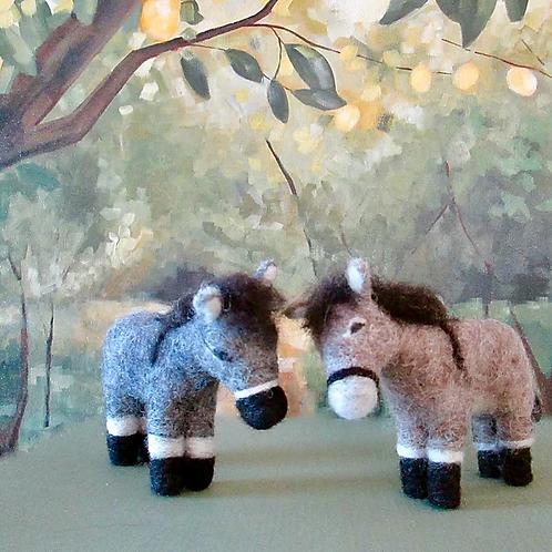 Donkey Friends Needle Felting Kit