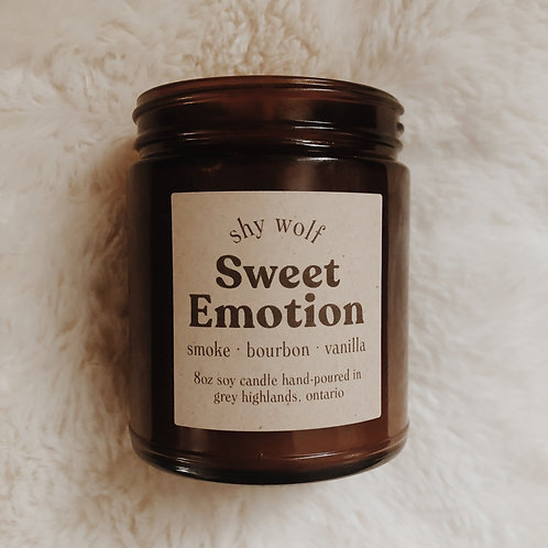 Sweet Emotion Candle by Shy Wolf Candles