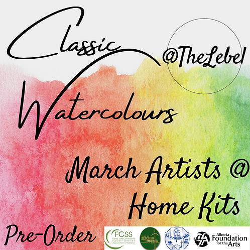 Artists @ Home Classic Watercolours Kit Pre-Order