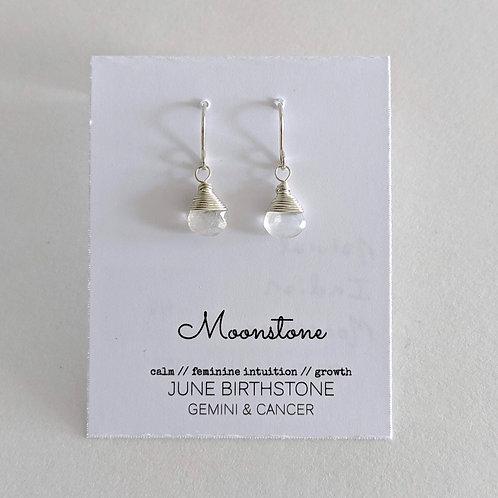Darling Gems for You Moonstone Earrings